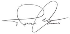 Patrick Ward Signature